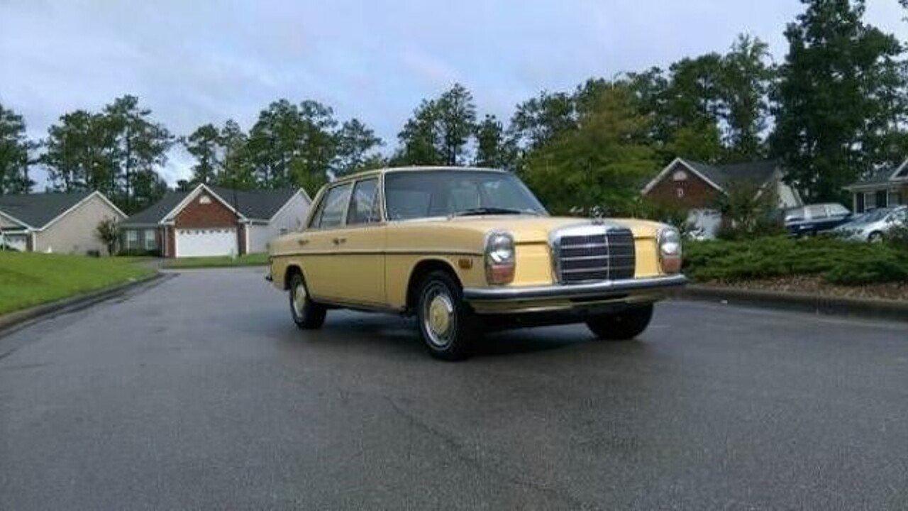 1973 mercedes benz 220d for sale near cadillac michigan for Mercedes benz 220d for sale