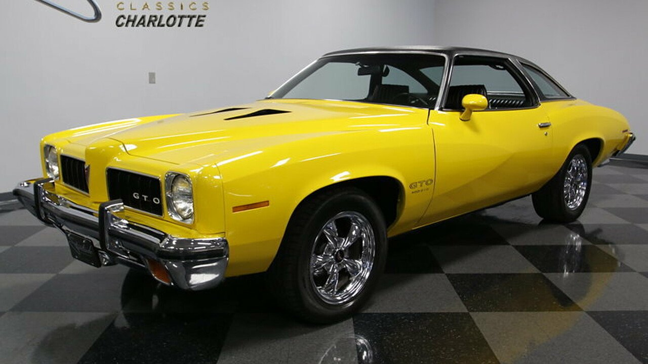 1973 pontiac gto for sale 100845231