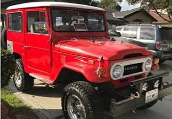 1973 Toyota Land Cruiser for sale 100821795