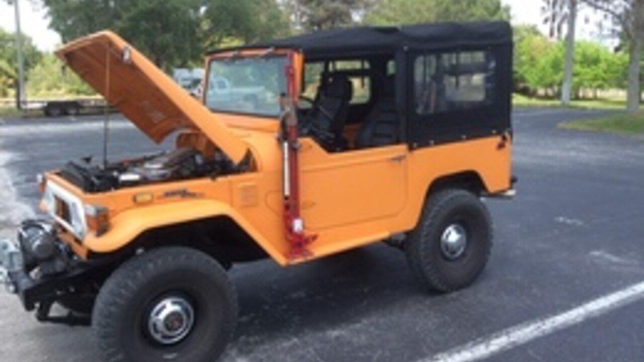 1973 Toyota Land Cruiser For Sale Near El Portal Florida 33138 100821812