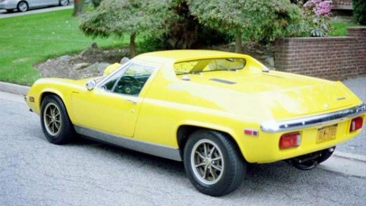 1973 Lotus Europa For Sale Near Cadillac, Michigan 49601