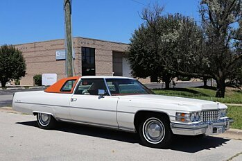 1974 Cadillac De Ville for sale 101003572