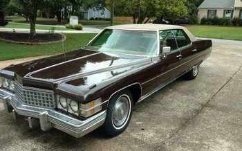 1974 Cadillac De Ville for sale 100894713