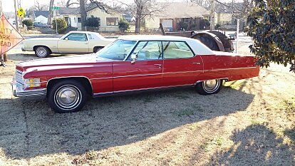 1974 Cadillac De Ville Sedan for sale 100946127