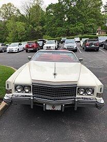 1974 Cadillac Eldorado Classics For Sale Classics On