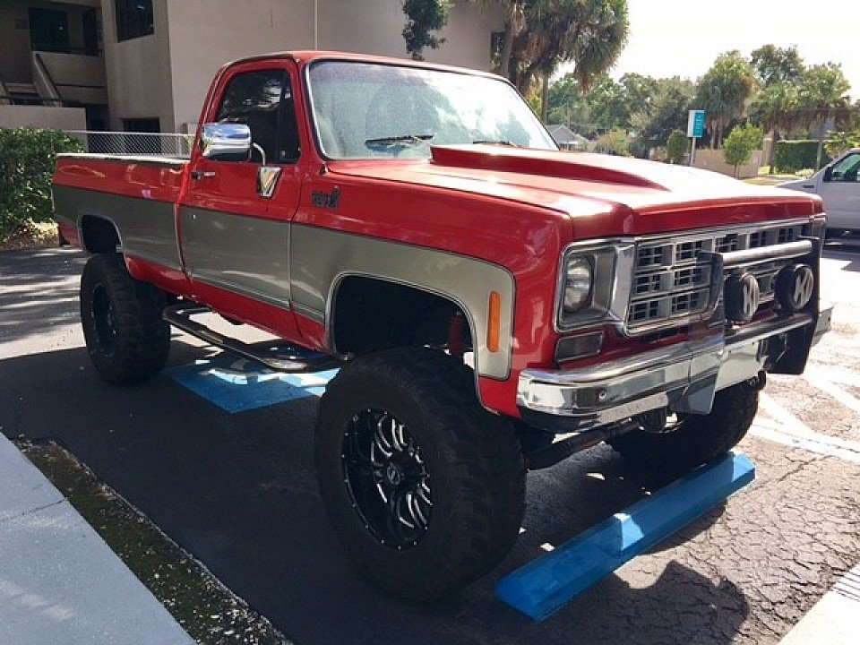 1974 chevrolet c k trucks cheyenne for sale near tampa florida 33609 classics on autotrader. Black Bedroom Furniture Sets. Home Design Ideas