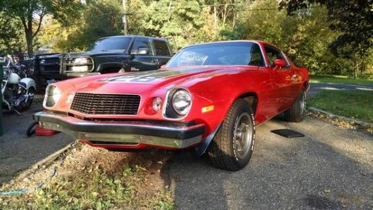 1974 chevrolet camaro z28 for sale near cadillac michigan. Black Bedroom Furniture Sets. Home Design Ideas