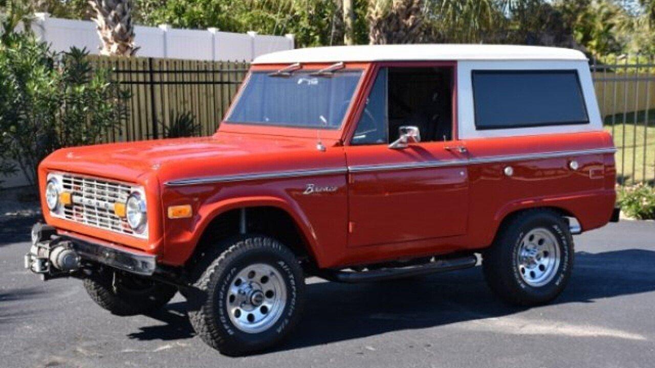 1974 Ford Bronco for sale near Venice, Florida 34293 - Classics on ...