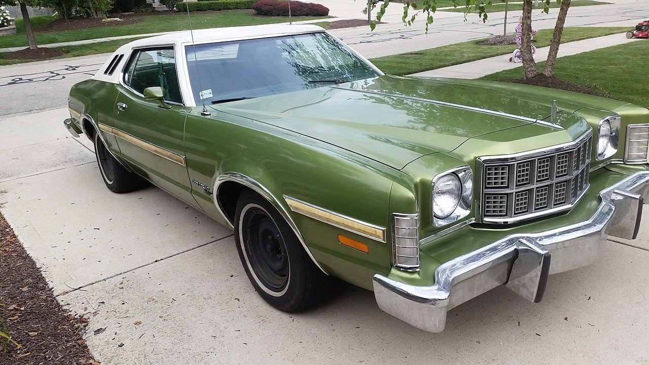 1974 ford gran torino for sale near plainfield illinois. Black Bedroom Furniture Sets. Home Design Ideas