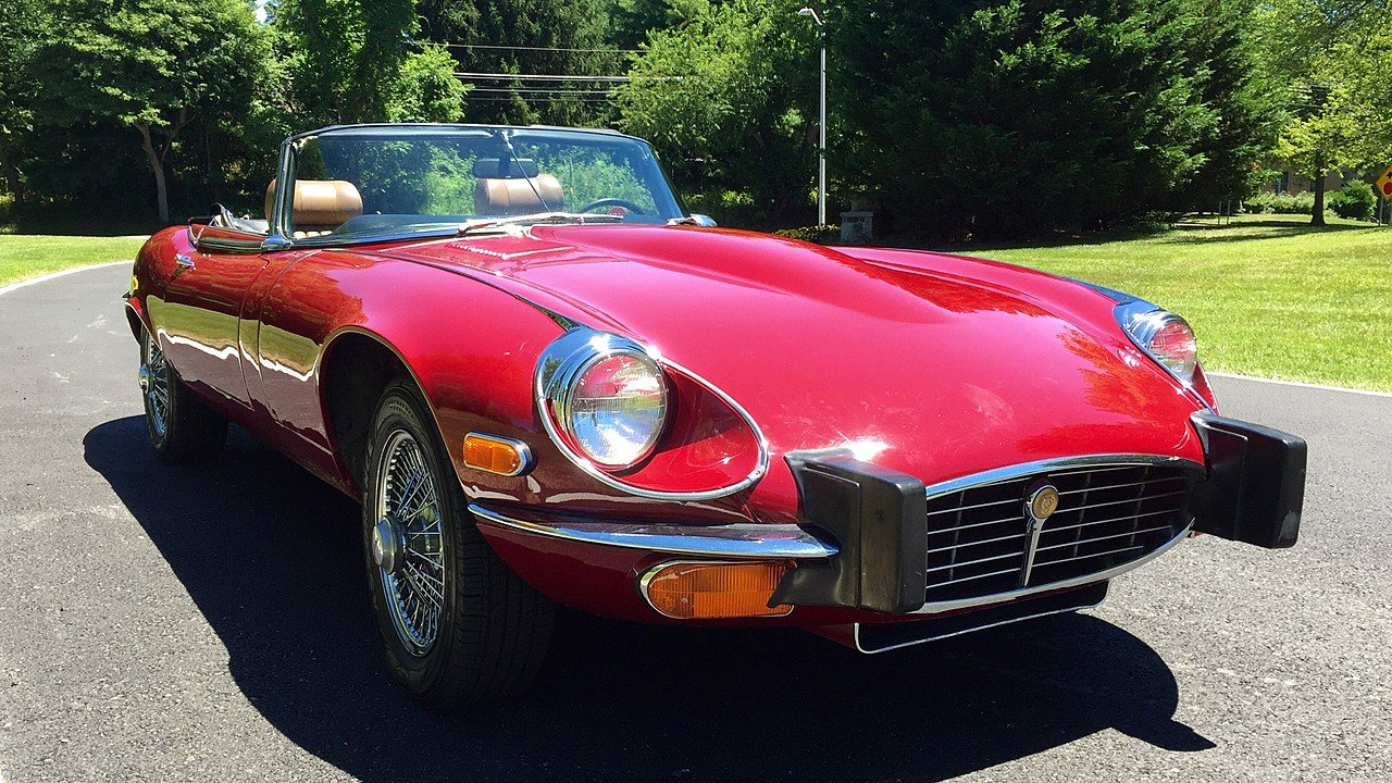 1974 Jaguar E-Type for sale near Rockville, Maryland 20850 ...