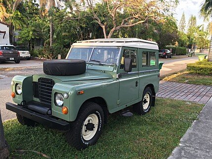 land rover series iii classics for sale classics on autotrader. Black Bedroom Furniture Sets. Home Design Ideas