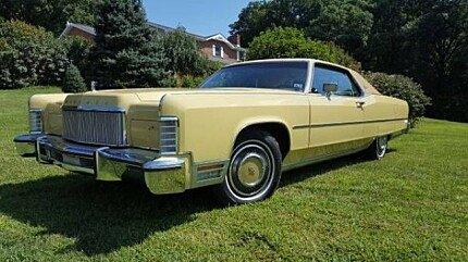 1974 Lincoln Continental Clics for Sale - Clics on Autotrader