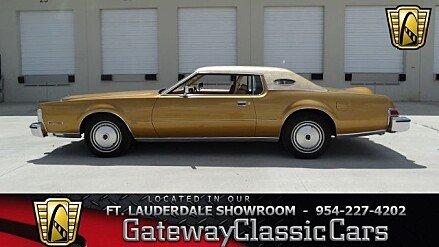 1974 Lincoln Continental Classics For Sale Classics On Autotrader