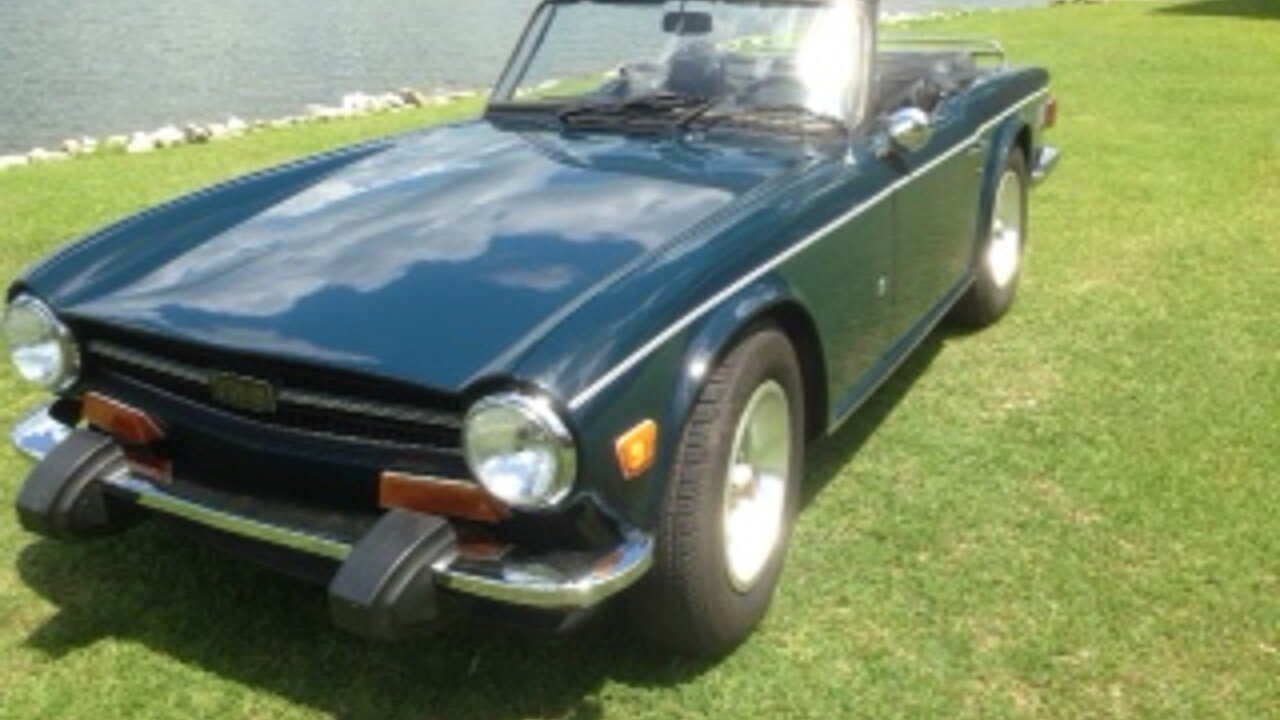 1974 triumph tr6 for sale near aiken south carolina 29801 classics on autotrader. Black Bedroom Furniture Sets. Home Design Ideas