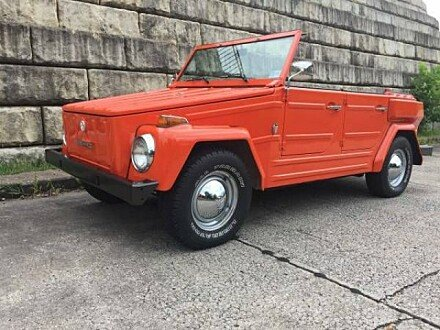 Volkswagen thing classics for sale classics on autotrader 1974 volkswagen thing for sale 100945040 altavistaventures Choice Image