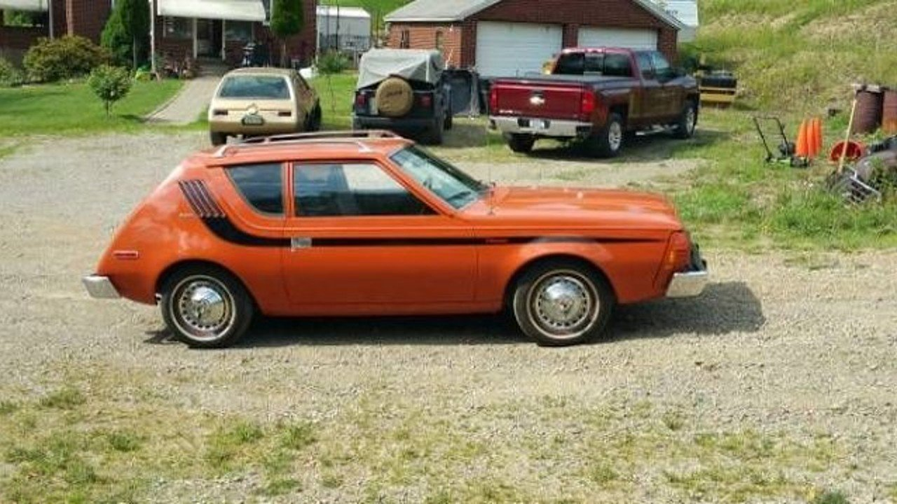 1975 amc gremlin for sale near cadillac michigan 49601 classics on autotrader. Black Bedroom Furniture Sets. Home Design Ideas