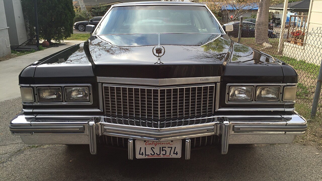 1975 Cadillac De Ville Coupe for sale 100840791