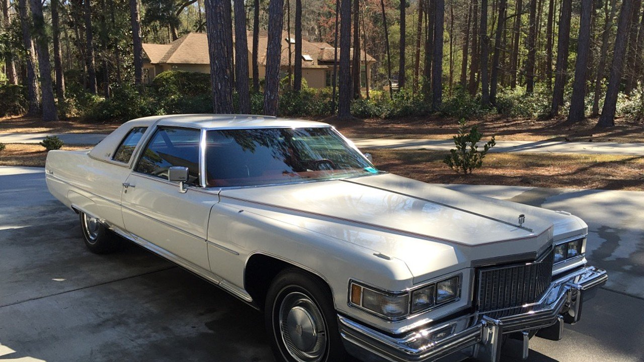 1975 cadillac de ville for sale near hilton head island south carolina 29926 classics on. Black Bedroom Furniture Sets. Home Design Ideas