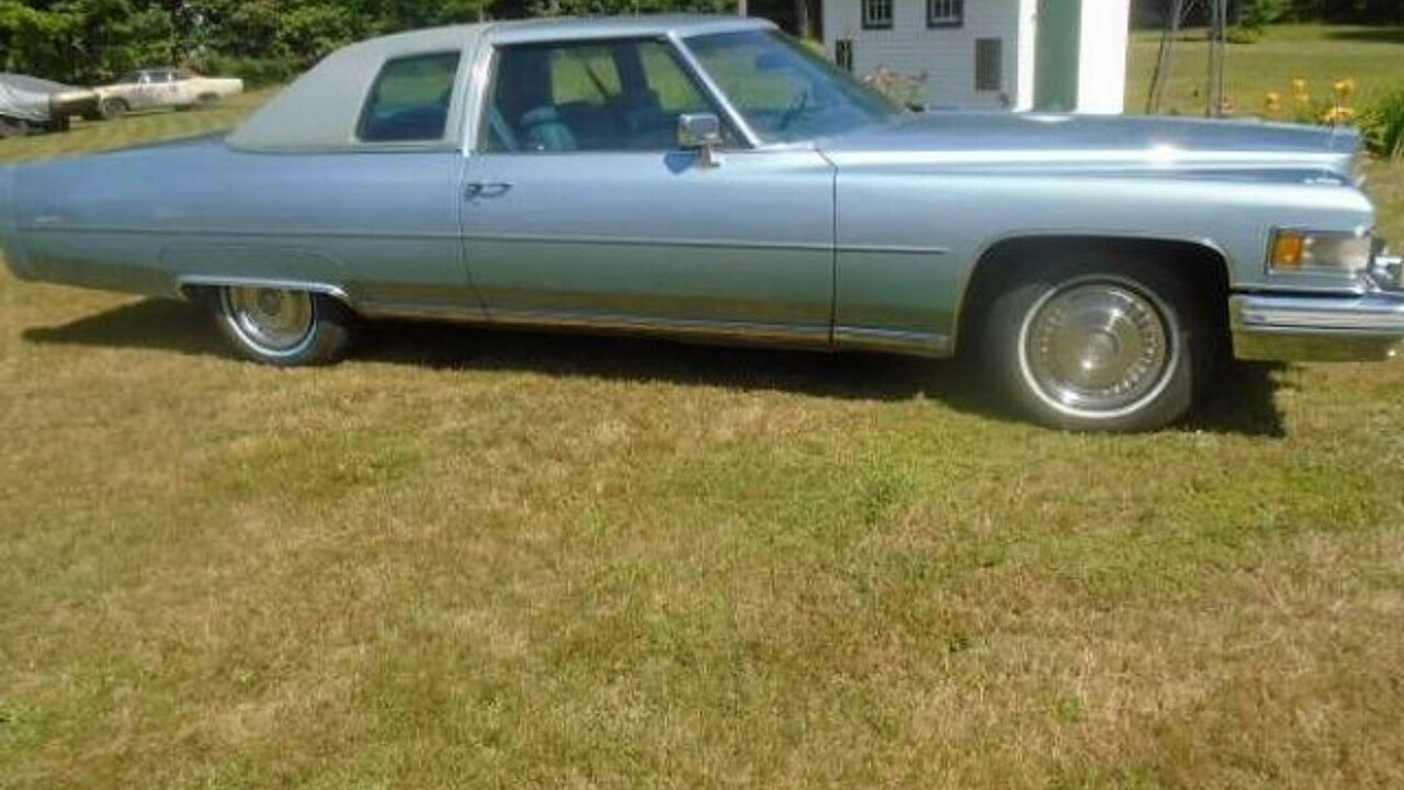 1975 Cadillac De Ville for sale 100901165