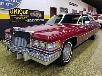 1975 Cadillac De Ville for sale 100922852