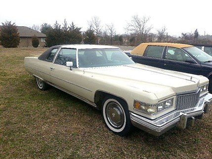 1975 Cadillac De Ville Clics for Sale - Clics on Autotrader