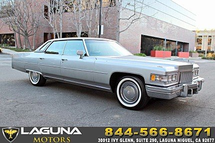 1975 Cadillac De Ville for sale 100960190