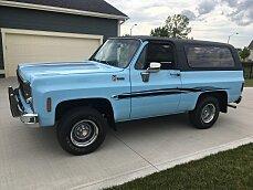 1975 Chevrolet Blazer 4WD 2-Door for sale 100930296