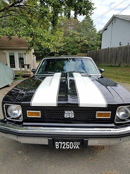1975 Chevrolet Nova Hatchback for sale 101036793