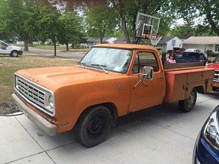 1975 dodge d w truck classics for sale classics on autotrader. Black Bedroom Furniture Sets. Home Design Ideas