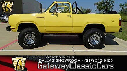 1975 Dodge Ramcharger for sale 100905734