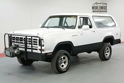 1975 Dodge Ramcharger for sale 100979989