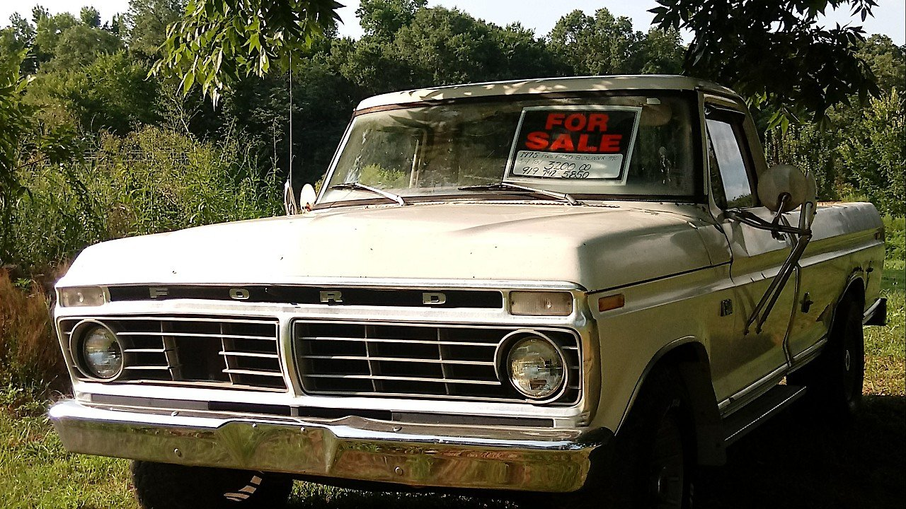 1975 Ford F250 2WD Regular Cab for sale 101003092