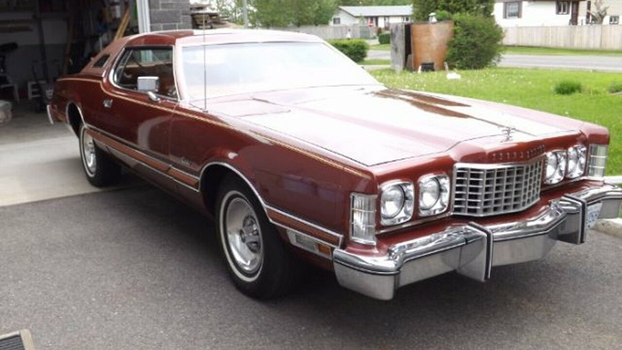 1975 ford thunderbird for sale near cadillac michigan 49601 classics on autotrader. Black Bedroom Furniture Sets. Home Design Ideas