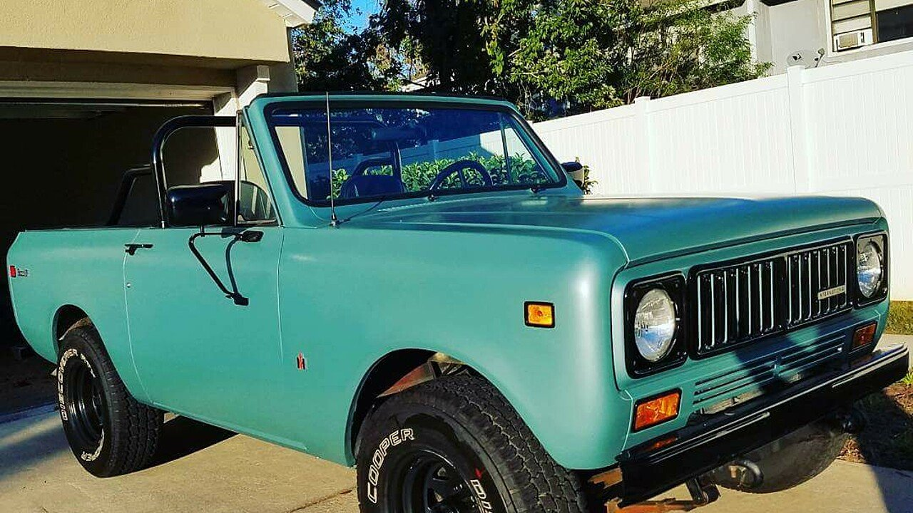 1975 International Harvester Scout for sale near JACKSONVILLE ...
