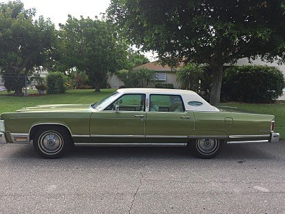 1975 Lincoln Continental for sale 100885892