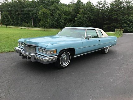 1975 cadillac De Ville for sale 101017747