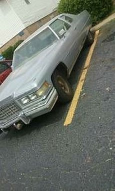 1976 Cadillac De Ville for sale 100829208