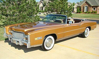 1976 Cadillac Eldorado Biarritz Convertible for sale 100987555