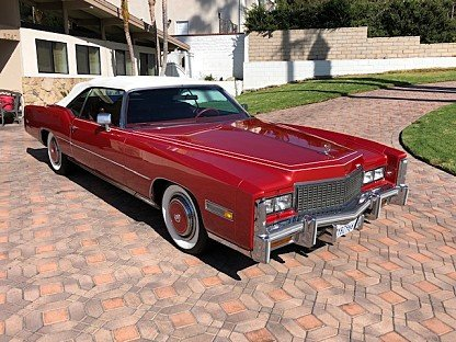 1976 Cadillac Eldorado Convertible for sale 101038686
