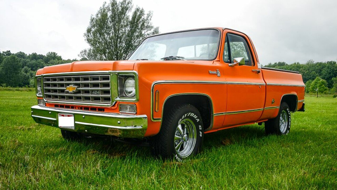 1976 Chevrolet C/K Truck Silverado for sale 101005334