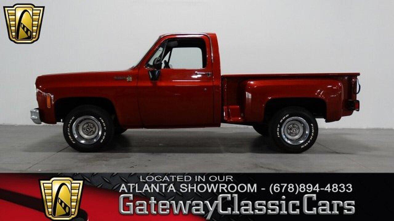 1976 chevrolet k10 pickup interior 157719 - 1976 Chevrolet C K Trucks Scottsdale For Sale 100820180