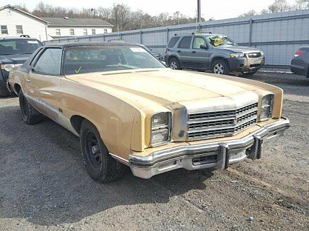 1976 Chevrolet Monte Carlo for sale 101056673