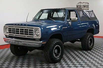 1976 Dodge Ramcharger for sale 100905098