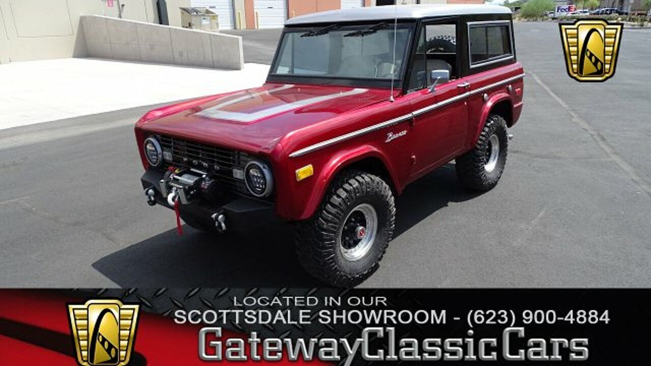 1976 Ford Bronco For Sale Near O Fallon Illinois 62269 Classics 1980 Interior 101022733