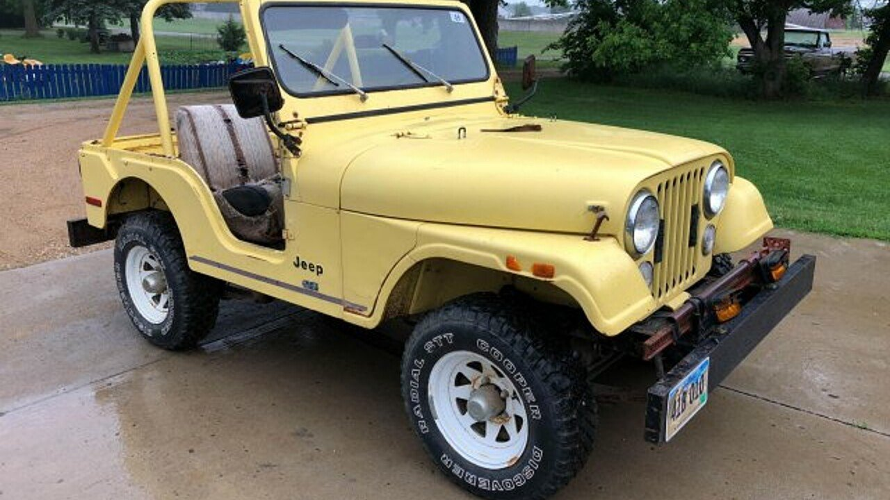 1976 Jeep CJ-5 for sale 101001289