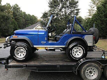 1976 Jeep CJ-5 for sale 100931707