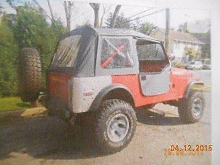 1976 Jeep CJ-7 for sale 100806505