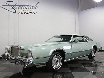 1976 Lincoln Continental for sale 100886753