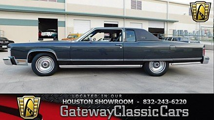 1976 Lincoln Continental for sale 100957525