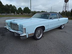 1976 Lincoln Continental Classics For Sale Classics On Autotrader